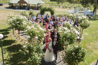 Glen Erin at Lancefield Weddings with Melbourne Celebrant Meriki Comito