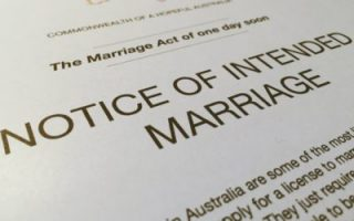Notice of Intent to Marry Melbourne weddings Celebrants