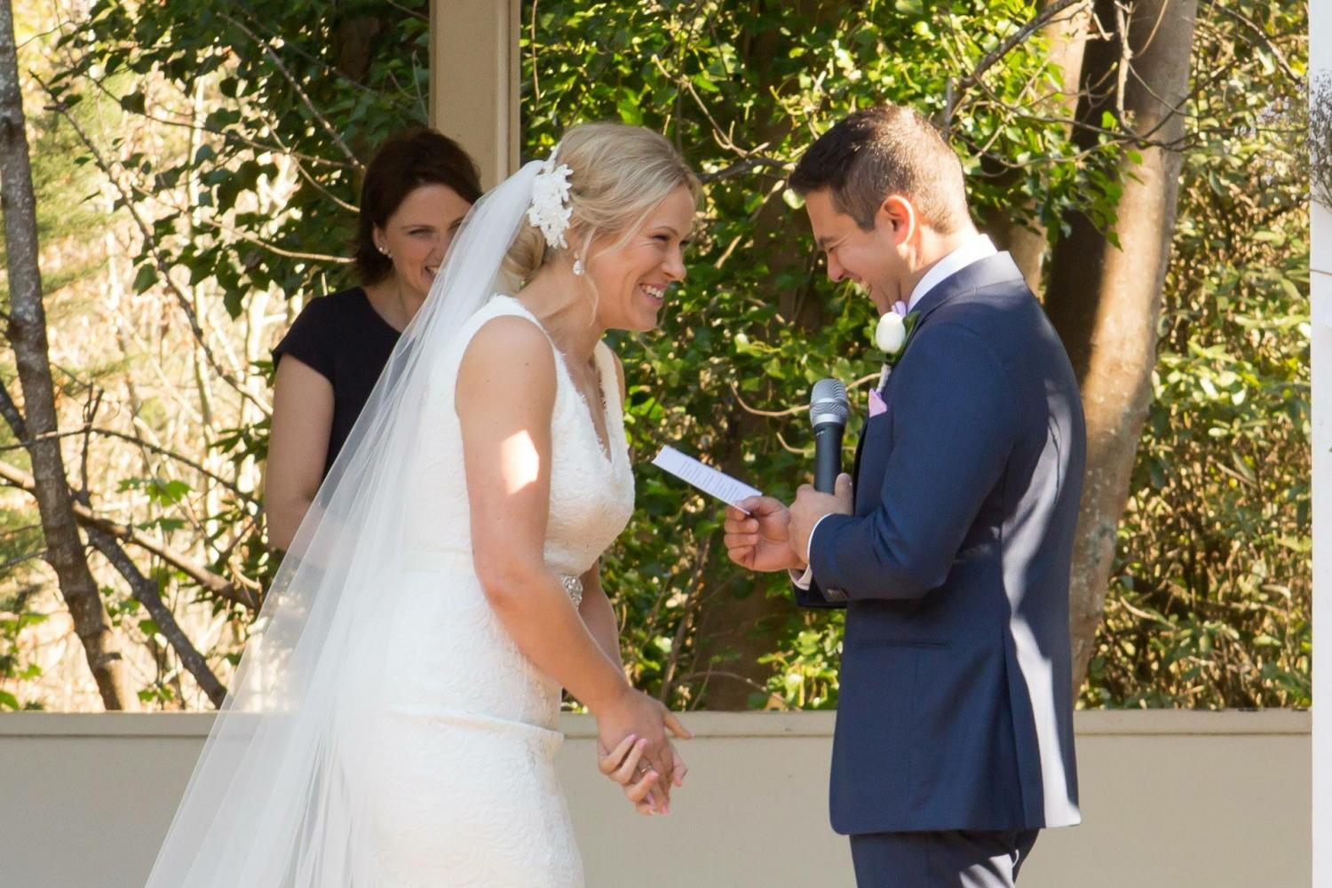 Marybrooke Manor Wedding ceremony