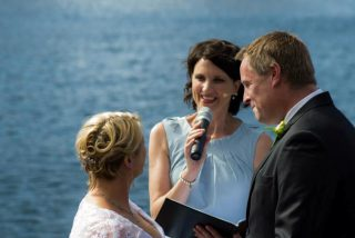 Docklands Weddings with Melbourne Celebrant Meriki Comito