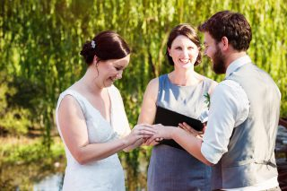 Inglewood Estate Garden weddings with Melbourne Celebrant Meriki Comito