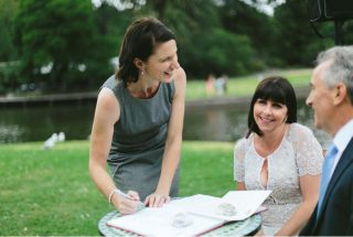 Botanical Gardens Weddings with Melbourne Celebrant Meriki Comito