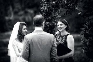 Botanical Gardens Wedding with Melbourne Celebrant Meriki Comito