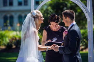 Werribee Mansion Weddings with Melbourne Celebrant Meriki Comito