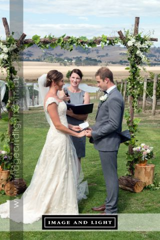Vineyard Weddings with Melbourne Marriage Celebrant Meriki Comito