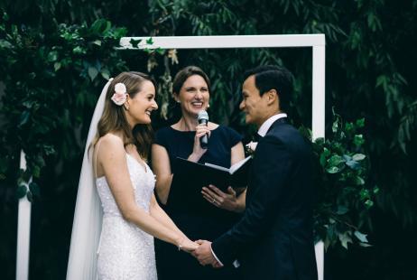 Leonda by the Yarra Weddings with Melbourne Marriage Celebrant Meriki Comito