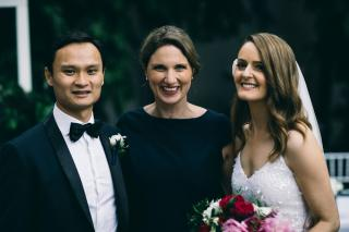 Romantic Weddings with Marriage Celebrant Melbourne Meriki Comito