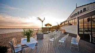 Sandbar Beach Cafe Weddings with Melbourne Marriage Celebrant Meriki Comito