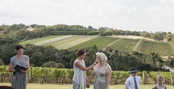 Same Sex Marriage with Melbourne Celebrant Meriki Comito