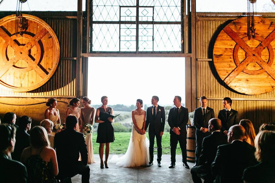 Melbourne Celebrant | Meriki Comito | Zonzo& Train Trak Wines Wedding | Photo by Hello Kimbo