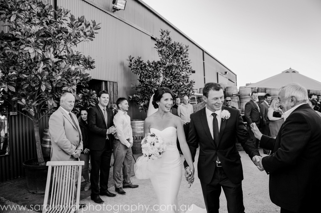 Melbourne Marriage Celebrant | Meriki Comito | Erin & Steve's Clyde Park Vineyard Wedding | Photo: Sara Taylor @ www.geelongphotography.com.au