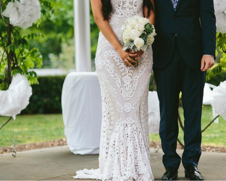 Melbourne Celebrant | Meriki Comito | Stef & Todd's National Gallery Wedding | Photo: www.ljmphotography.com.au