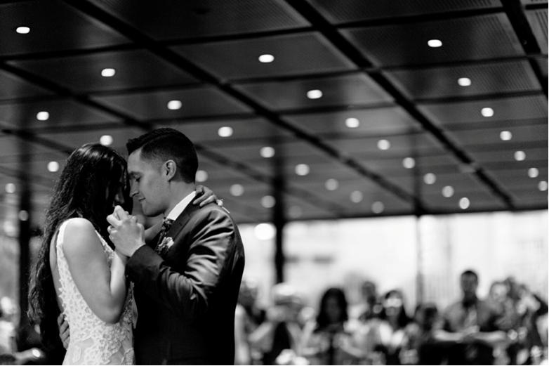 Melbourne Celebrant | Meriki Comito | Stef & Todd's National Gallery Wedding | Photo: www.ljmphotography.com.au