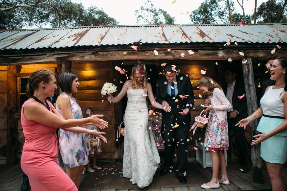 Melbourne Marriage Celebrant Meriki Comito    Seryn & Stuart's Emu Bottom Homestead Wedding   Photo: www.kimselbyphotography.com.au