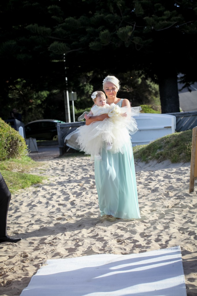Melbourne Marriage Celebrant Meriki Comito | Jacqui & Corey's Sorrento Wedding | Photo: www.robynswallowphotography.com