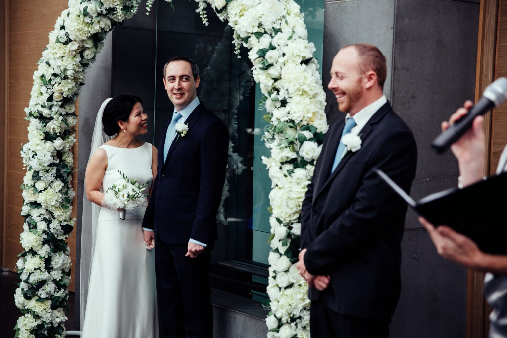 Melbourne Wedding Celebrant Meriki Comito | Tran & Damon's Grand Hyatt Melbourne Wedding | Photo:www.allioughtredweddings.com
