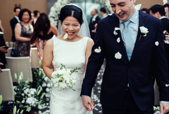 Melbourne Celebrant Meriki Comito | Tran & Damon's Grand Hyatt Melbourne Wedding | Photo:www.allioughtredweddings.com