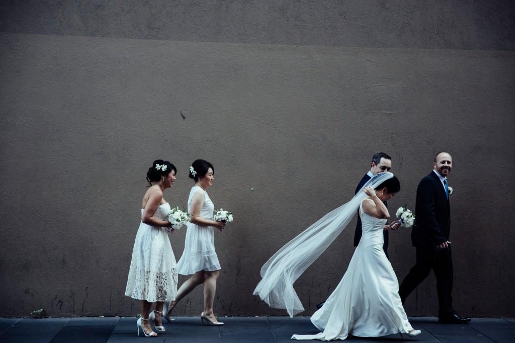 Melbourne Wedding Celebrant Meriki Comito | Tran & Damon's Grand Hyatt Melbourne Wedding | Photo:www.allioughtredweddings.com