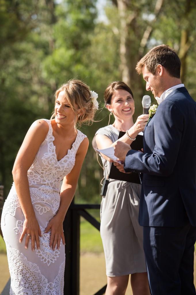 Melbourne Wedding Celebrant Meriki Comito | Sarah & Tyson's Country Wedding | Photo: www.jerryghionis.com