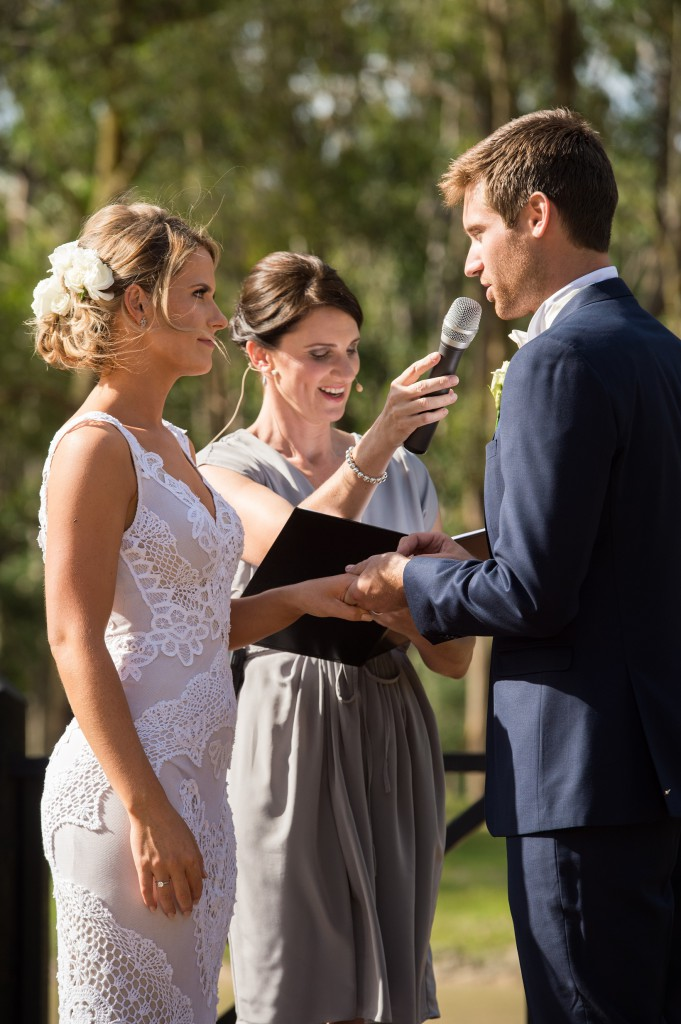 Melbourne Wedding Celebrant Meriki Comito | Sarah & Tyson's Country Wedding | Photo: www.jerryghionis.com