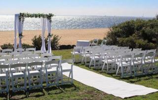 Brighton Savoy Beach Weddings with Melbourne Marriage Celebrant Meriki Comito