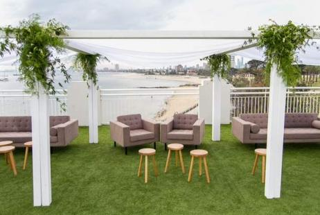 Beach Weddings at the Royal Melbourne Yacht Squadron Harbour Room