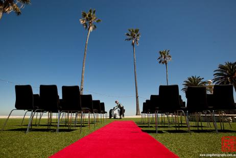 Beach Wedding at Riva St Kilda