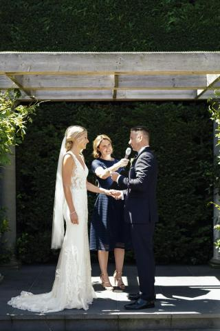 Quat Quatta weddings with Melbourne Marriage Celebrant Meriki Comito