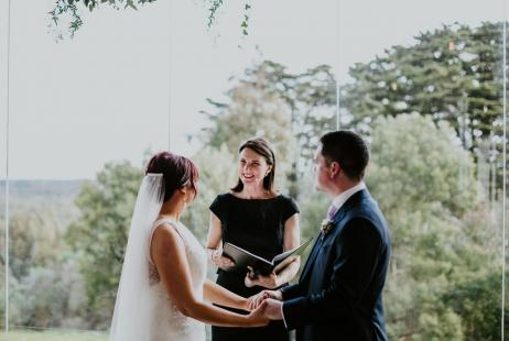 Red Hill Weddings with Melbourne Celebrant Meriki Comito