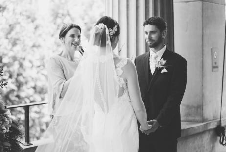 Melbourne Town Hall Weddings with Melbourne Marriage Celebrant Meriki Comito