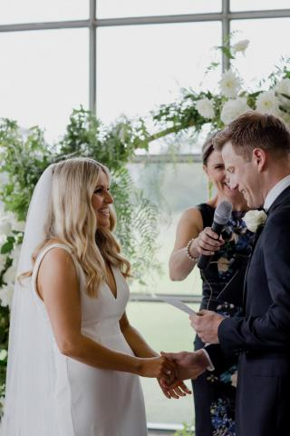 Greenfilds Albert Park Weddings with Melbourne Marriage Celebrant Meriki Comito