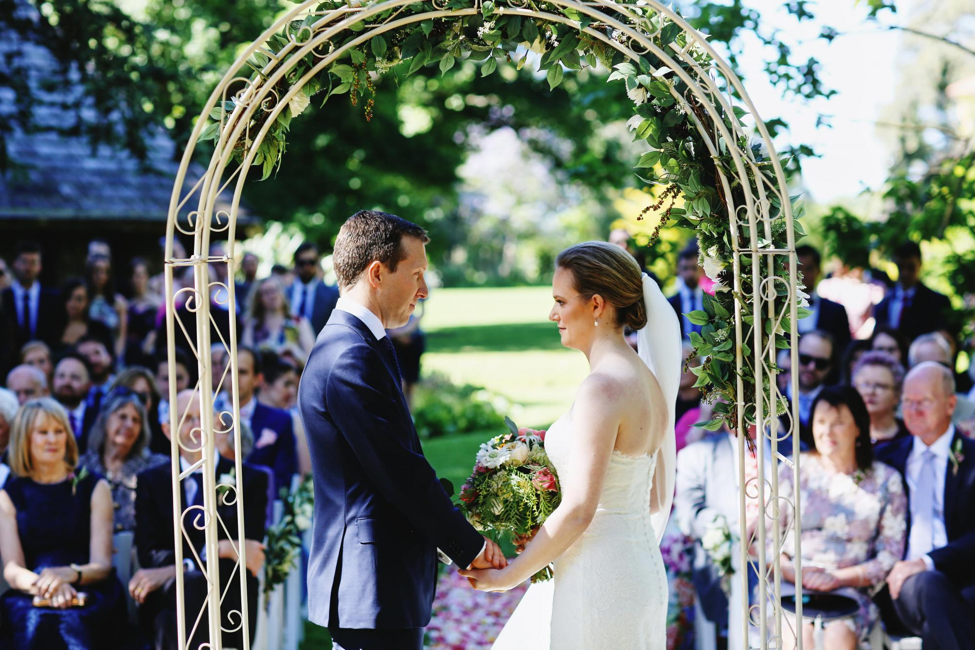 Rippon Lea Estate Garden Wedding