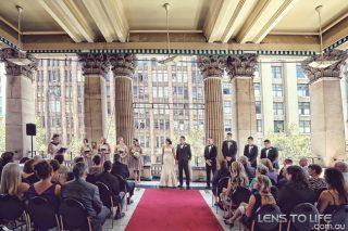 Melbourne Town Hall Weddings with Melbourne Celebrant Meriki Comito