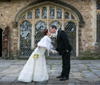 Montsalvat Weddings with Melbourne Celebrant Meriki Comito