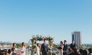 Luminare South Melbourne Rooftop Weddings with Melbourne Celebrant Meriki Comito