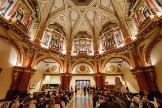 The Dome Weddings with Melbourne Celebrant Meriki Comito