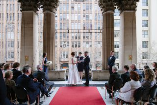 Town Hall weddings with Melbourne Marriage Celebrant Meriki Comito