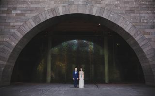 National Gallery Weddings with Melbourne Celebrant Meriki Comito