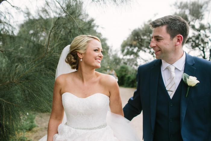Wedding Celebrants Melbourne | Meriki Comito | Fergal + Lyndsey's Sandringham Yacht Club Wedding | Photo by Anitra Wells Photography