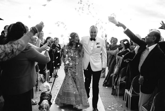 Wedding Celebrants Melbourne | Meriki Comito | Max + Pri's Luminare Rooftop Wedding | Photo by Jenna Fahey White Photography