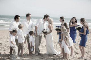 Jan Juc Beach Weddings with Marriage Celebrant Melbourne Meriki Comito