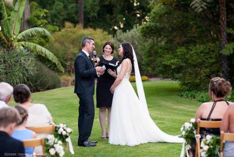 Gardens House Weddings with Melbourne Celebrant Meriki Comito
