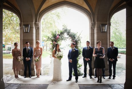 Melbourne Uni Weddings with Marriage Celebrant Meriki Comito