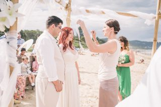 Lorne Beach weddings with Melbourne Celebrant Meriki Comito