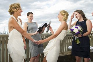 St Kilda Pier weddings with Melbourne Celebrant Meriki Comito