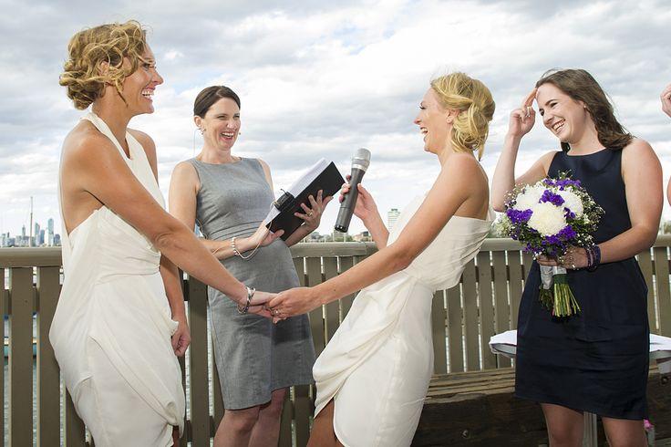 St Kilda Pier weddings with Melbourne Celebrant Meriki Comito