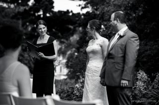 Fitzroy Garden Wedding with Melbourne Celebrant Meriki Comito