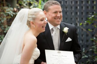 City Weddings with Melbourne Celebrant Meriki Comito