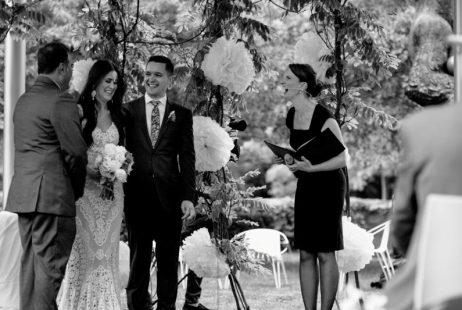 National Gallery Garden Weddings with Melbourne Celebrant Meriki Comito