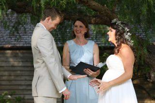 Emu Bottom Garden Weddings with Melbourne Celebrant Meriki Comito